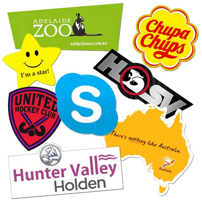 Custom Shape Vinyl Stickers | CSTK